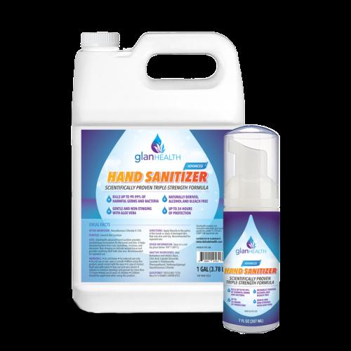 alcohol-free hand sanitizer